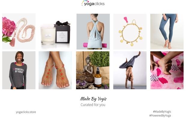 YogaClicks Brand Image